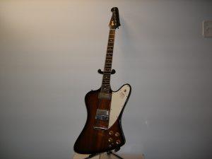 Dennis' Gibson Firebird guitar