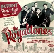 Royaltones CD cover